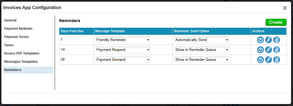 Invoices App Auto Reminders Amp Message Templates And