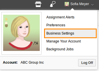 Business-settings-select