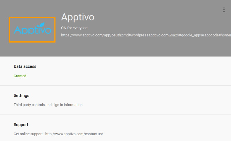 apptivo_setting_dashboard