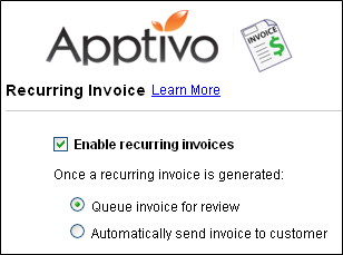 Recurring Invoice