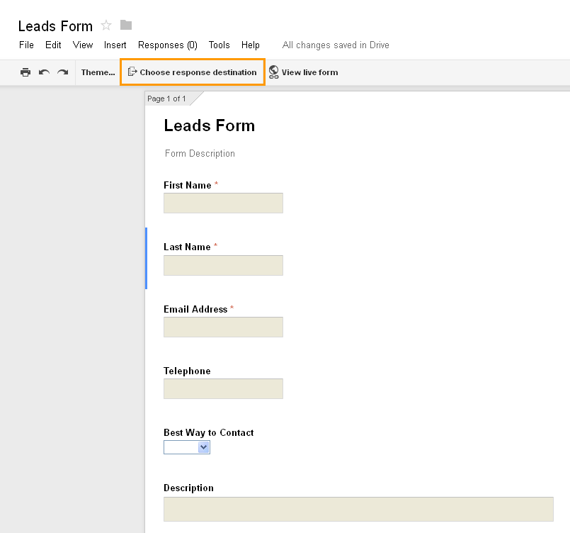 Google Forms Integration - Create Sales Leads From Google Forms ...