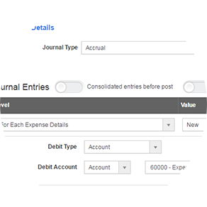 automated accounting rules