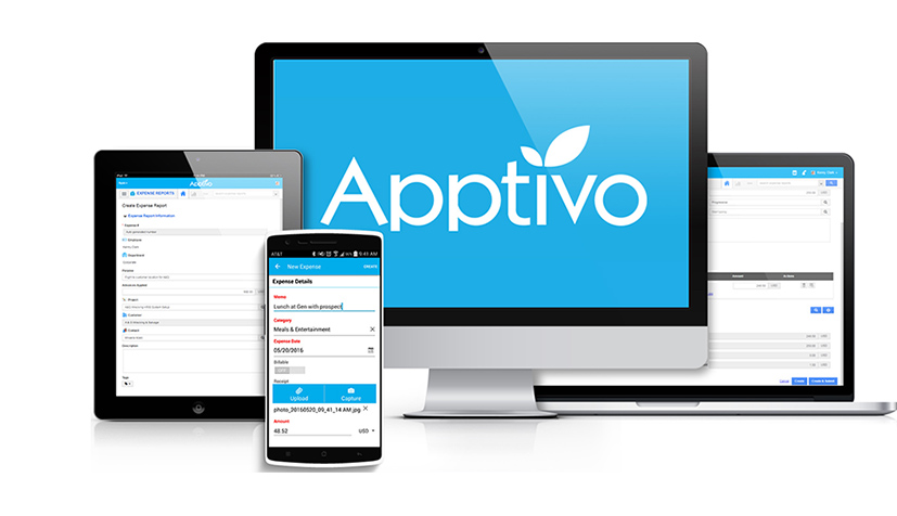 Simple Expense Report Software  Apptivo