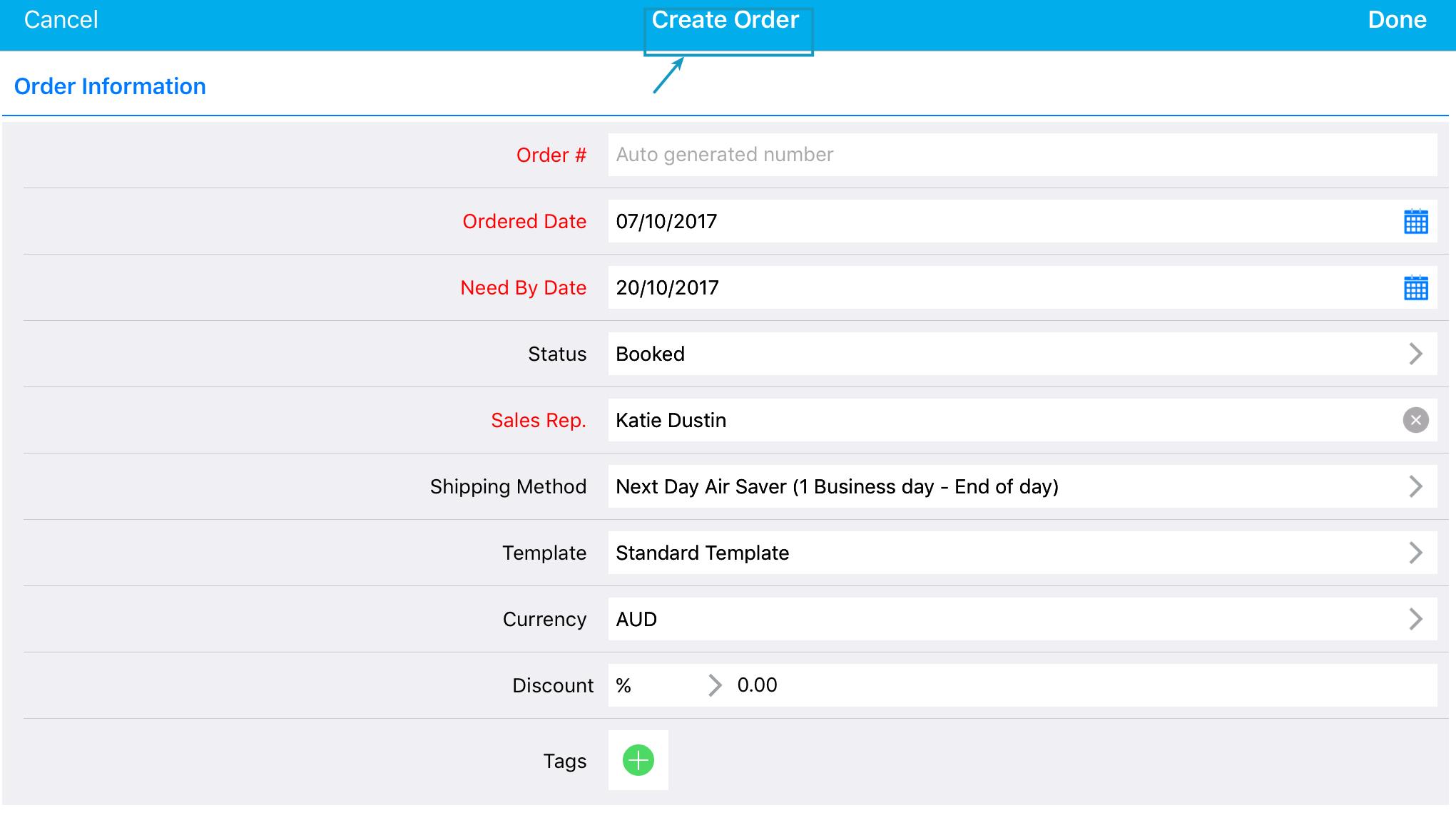 order_creation